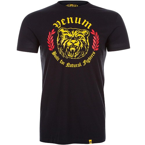 VENUM Tシャツ Natural Fighter - Bear - 黒