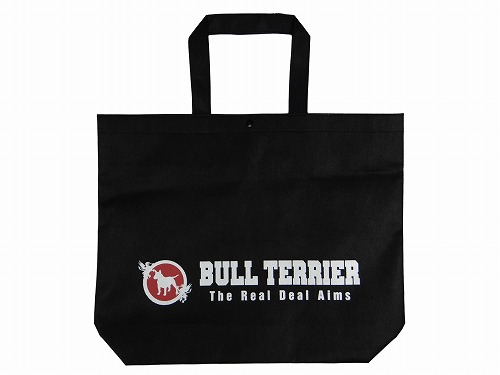 BULL TERRIER エコバッグ 黒黒