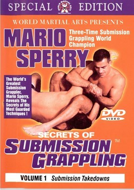 DVD マリオスペーヒー SUBMISSION GRAPPLING vol.1-6