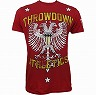 Throwdown Tシャツ Homeland 赤
