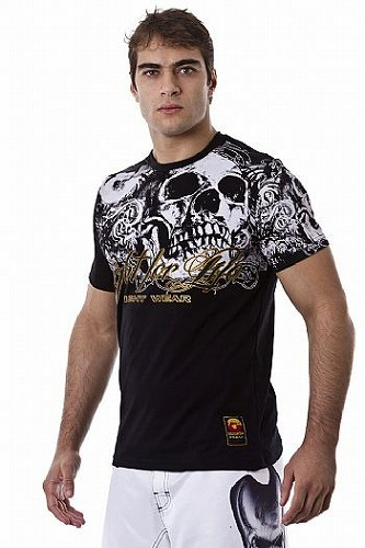 DRAGAO Tシャツ Fight For Life 黒